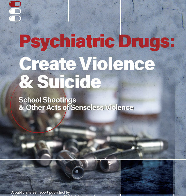 CCHR Exhibit Warns Lawmakers that Psychotropic Drugs May Contribute to Violence and Suicide