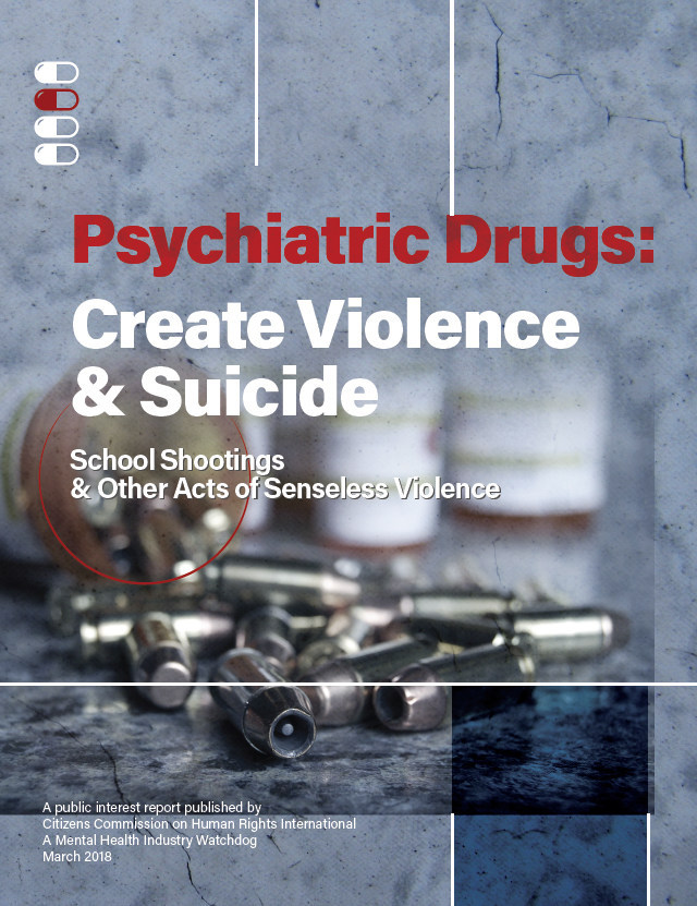 CCHR campaign launched to educate law enforcement, policy makers and school officials about violence- and suicide-inducing drug risks.