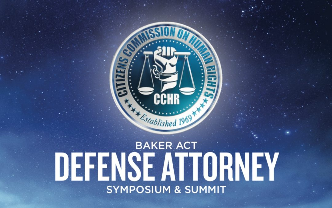 Mental Health Watchdog Hosts  Baker Act Defense Attorney Symposium