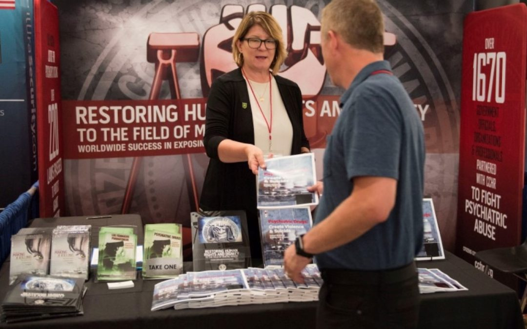 CCHR Educates School Safety Conference Attendees on Psychiatric Drug Dangers