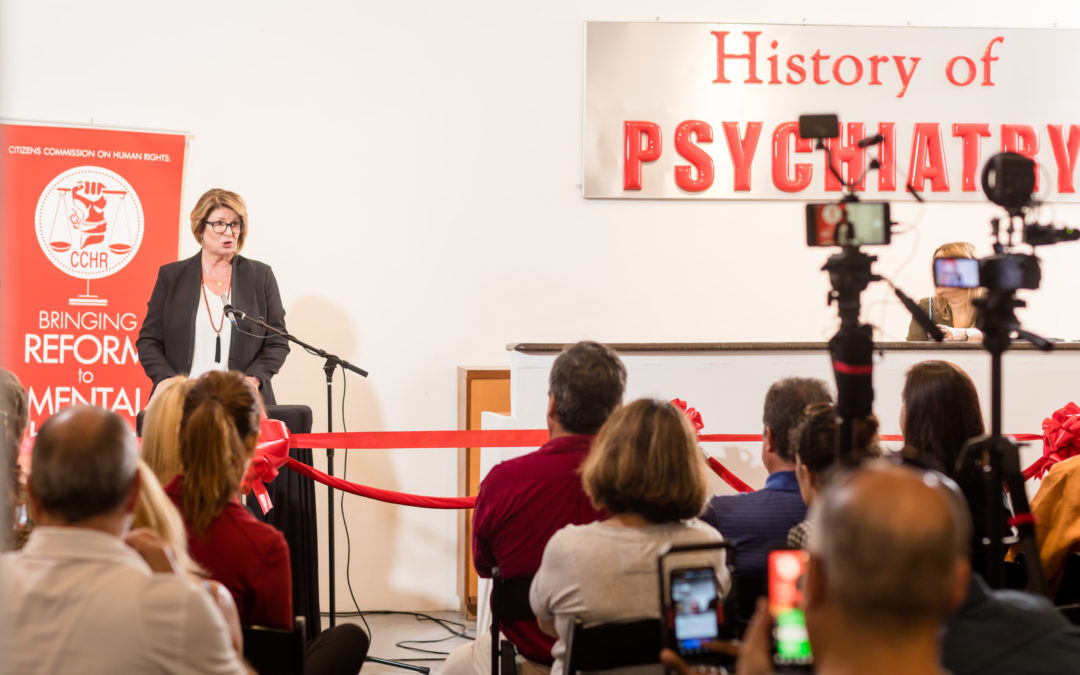 Hundreds Tour the Psychiatry: An Industry of Death Traveling Exhibit in Miami