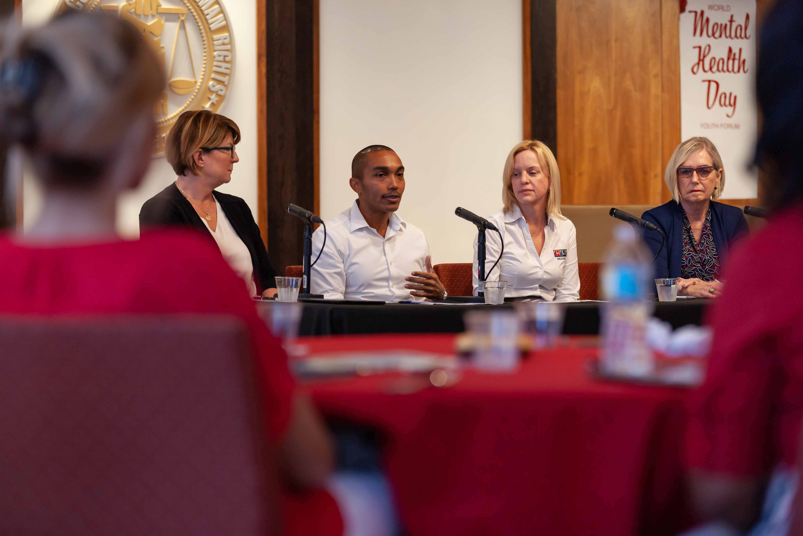 Experts presented solutions to the challenges faced when dealing with youth mental health to an audience of concerned parents, educators, clergy and mental health practitioners.