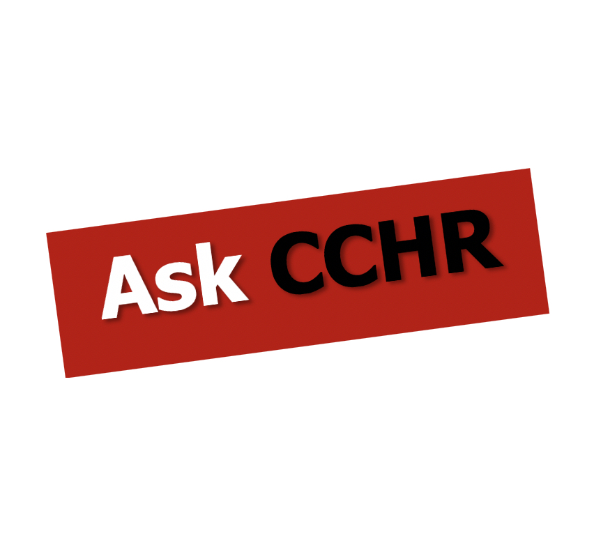 Ask CCHR Series